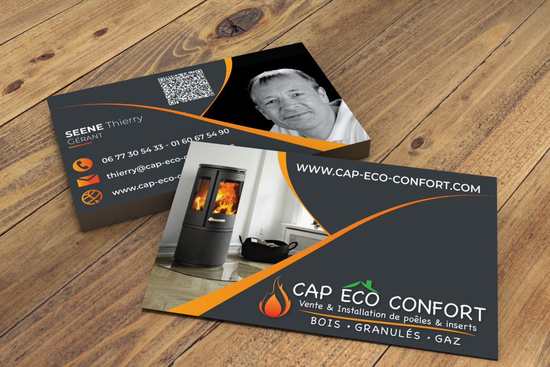 Carte de visite Cap Eco Confort