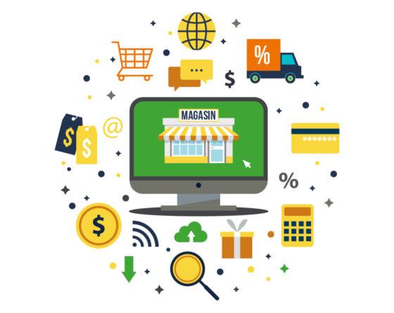Création de site ecommerce dans le Vaucluse et dans la drome
