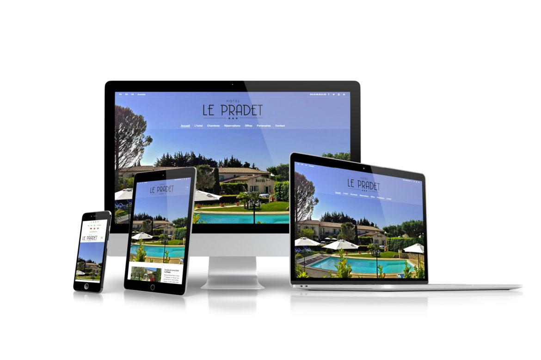 Création de site internet pour les Hotels, Chambres d'hotes dans le vaucluse
