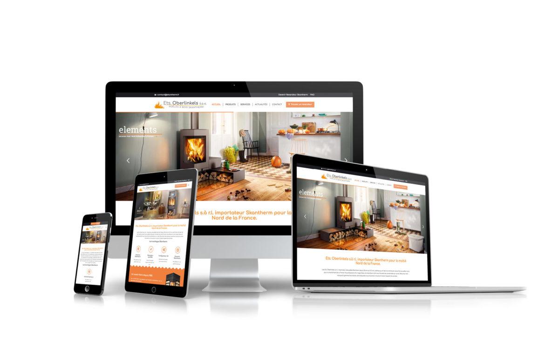 Création de site internet a orange dans le vaucluse ets oberlinkels skantherm
