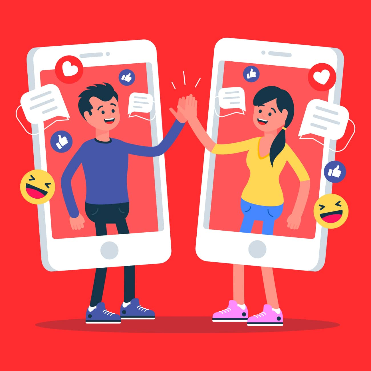 Creation reseaux sociaux facebook instagram a avignon
