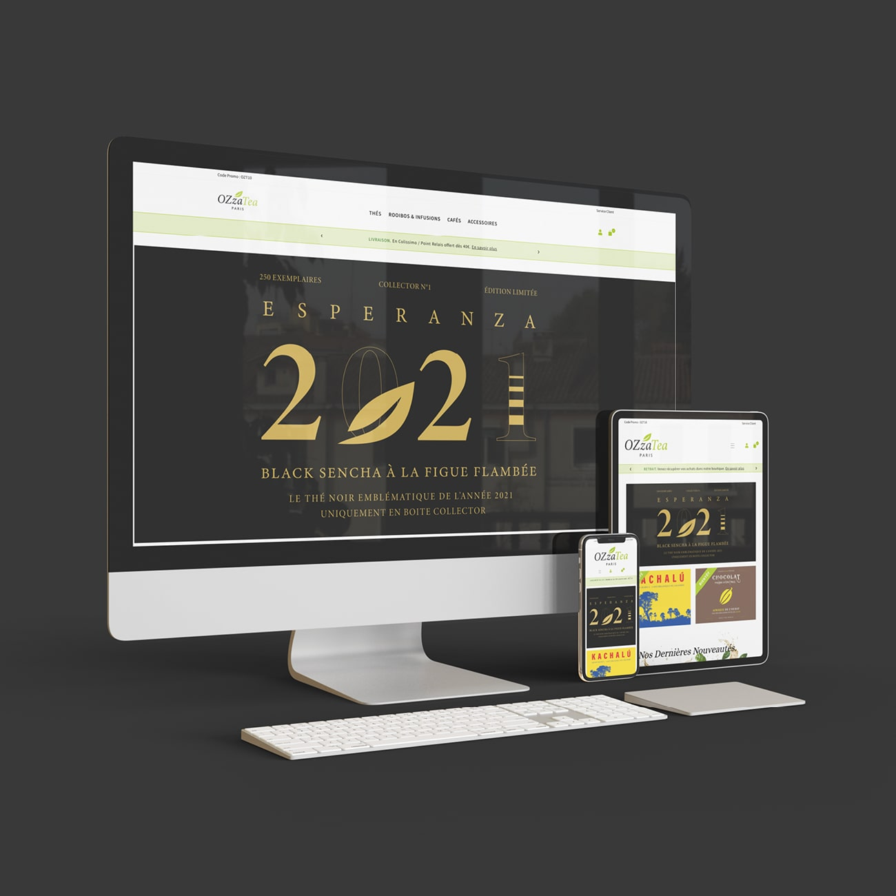 Creation site internet ozzatea