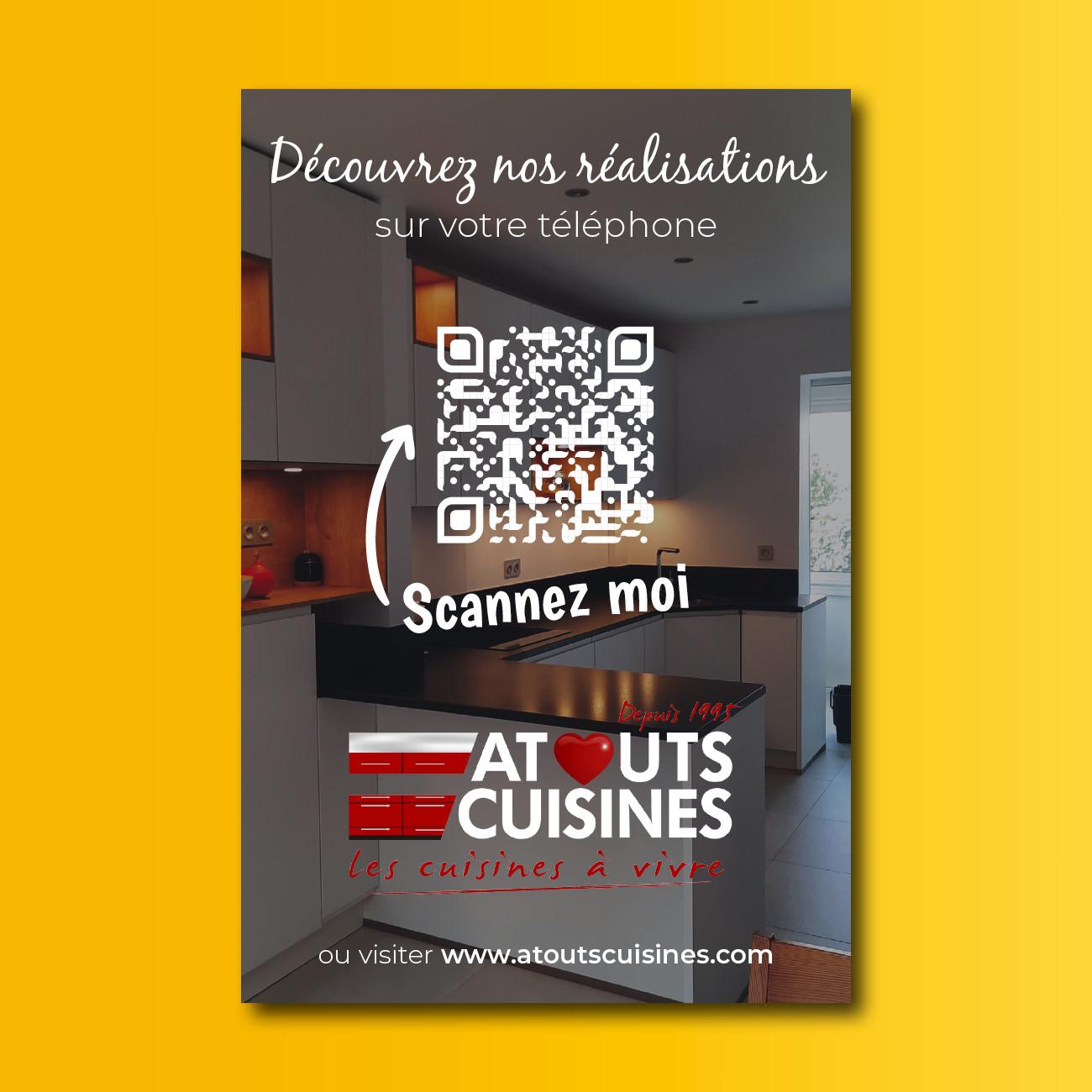 Creation Dibond A4 Atouts Cuisines